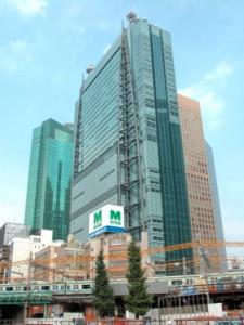 現在の日本テレビ本社