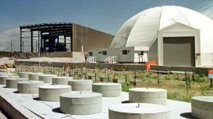 ロス・アラモス研究所内の低レベル放射性廃棄物の格納施設