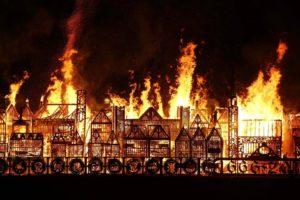 ロンドンの大火01